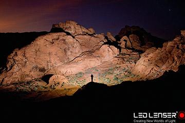 Neue Lichtdimensionen - die LED Lenser Taschenlampen.