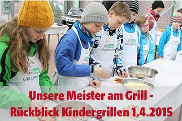 Wir über uns Kindergrillen mit Grillmeister Bertl!