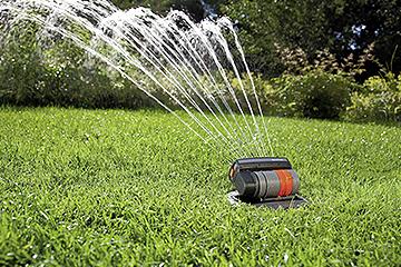 Wasser marsch - Sprinklersysteme von Gardena