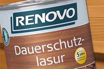 Die Holzlasur von Renovo