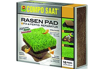 Garten Rasen reparieren: COMPO SAAT - Rasen Pad