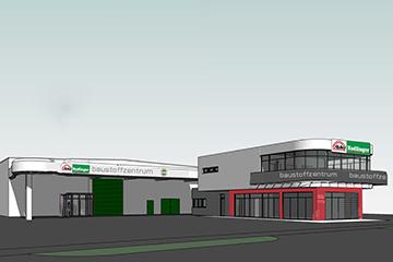 Wir über uns Baumarkt Nadlinger modernisiert Baustoffzentrum