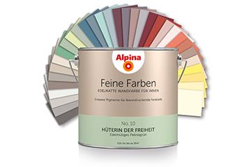 Alpina - diese Farben müssen Sie gesehen haben!