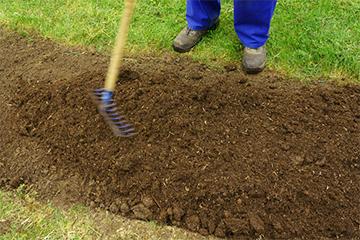 Garten Rasen Neuanlage