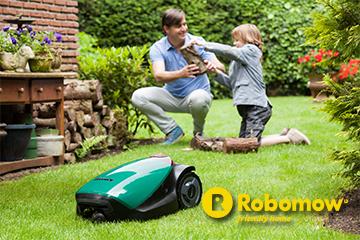 Garten Robomow Rasenroboter