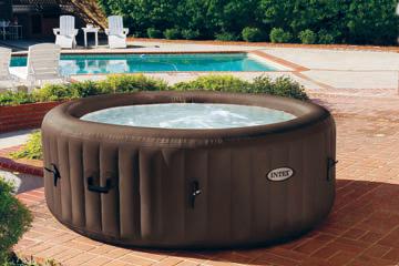 Garten Whirlpools für Sommer & Winter