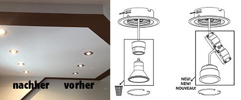 halogen spots auf led umr sten baumarkt nadlinger hagebaumarkt in st p lten nieder sterreich. Black Bedroom Furniture Sets. Home Design Ideas