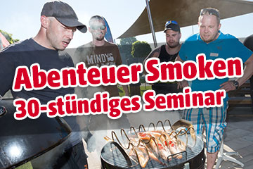 Event: 30-stündiges Abenteuer Smoken