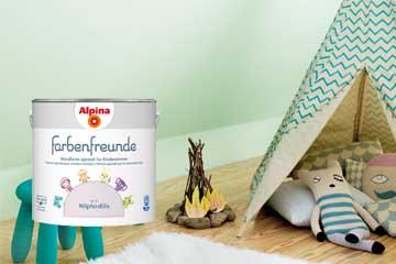 Alpina Farbenfreunde - speziell für Kinderzimmer