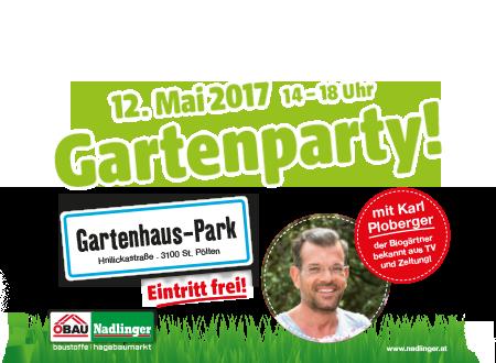 Gartenparty!