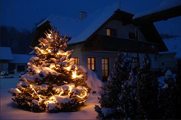 Wohnen Weihnachtsbeleuchtung