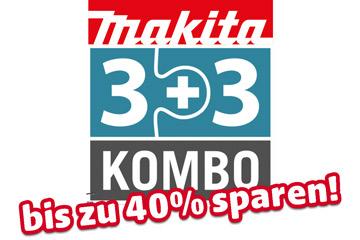 Makita Akku-Spezialset DLX3109PT