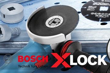 Bosch X-LOCK - Werkzeugwechsel mit einem Klick