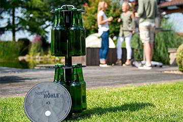 Hopfenhöhle - der Bierkühlschrank im Garten!