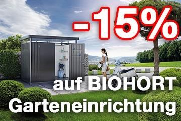 Biohort -15% Rabatt