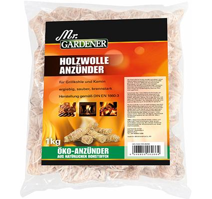 Mr. Gardener Holzwolle Anzünder