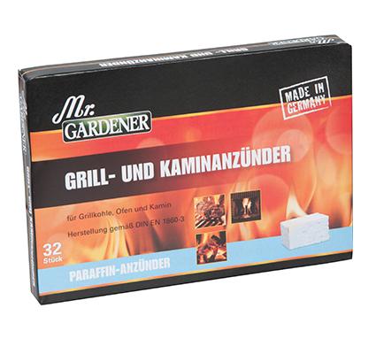 Mr. Gardener Grill-und Kaminanzünder