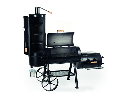 holzkohle griller smoker joe 39 s bbq smoker 16 chuckwagon baumarkt nadlinger hagebaumarkt in. Black Bedroom Furniture Sets. Home Design Ideas