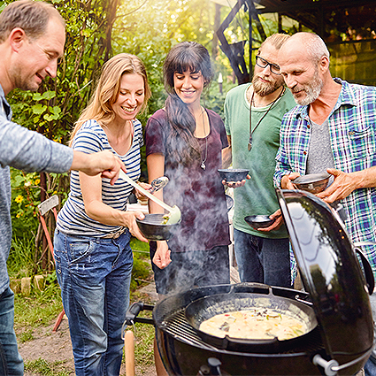 Weber Wok Einsatz- BBQ Gourmet System