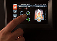Touch-Screen Steuerung